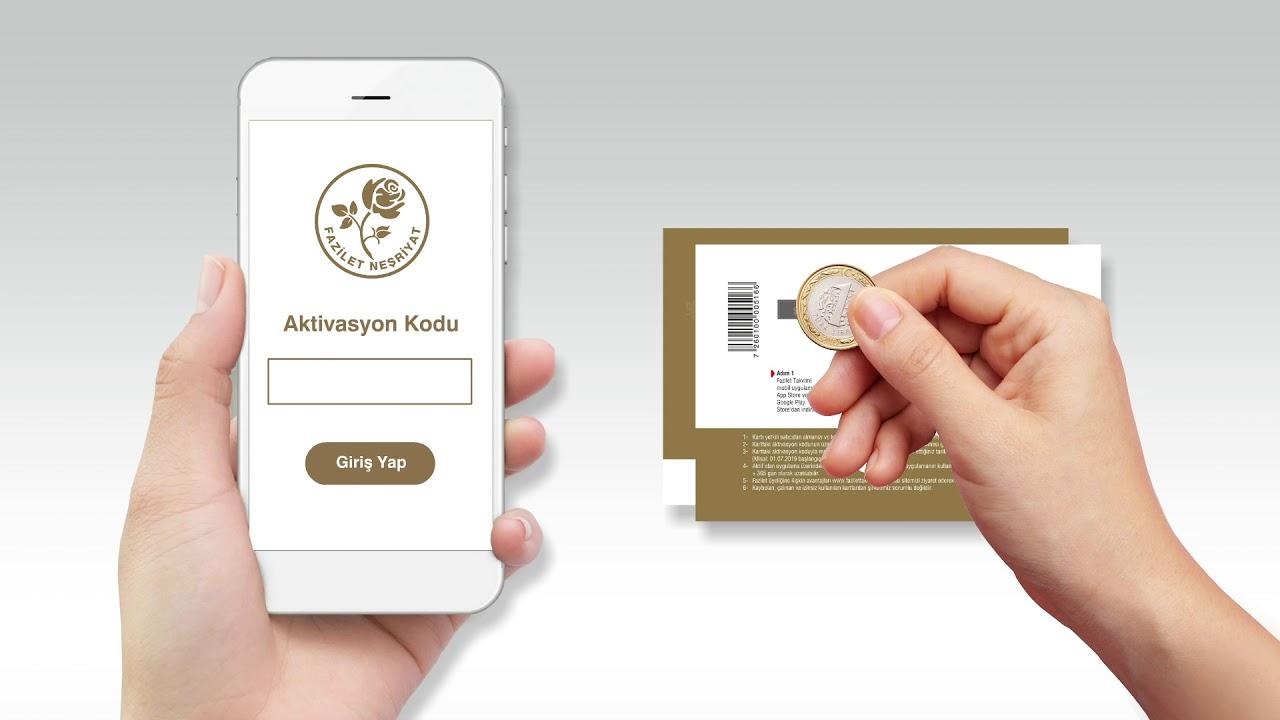 Fazilet Mobil Aktivasyon Kartı
